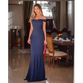 d3e362e57 Vestido Sereia Em Malha - Vestidos Longos Femininas Violeta escuro ...