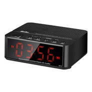 Despertador Radio Reloj Fm Mp3 Bluetooth Parlante Portatil