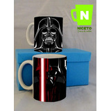 Star Wars Caja 2 Tazas Forrada Ideal Regalo Darth Vader