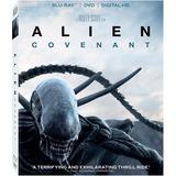 Alien Covenant Importacion Blu-ray + Dvd + Digital Hd