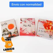 3 Juegos Orientales - Koi-koi Hanafuda + Si Se Pai + Goita