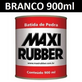 Batida De Pedra Branco - Tinta Para Emborrachamento Maxi Ru