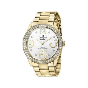 Relógio Champion Passion Feminino Dourado Branco Ch24464h