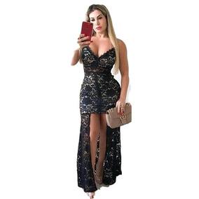 b27df146f3 Vestido Branco Longo Reveillon Vestidos Feminino Mato Grosso ...