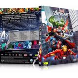 3 Box Vingadores Unidos 1º, 2º E 3º Ano Avengers Assemble