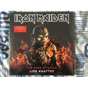 Iron Maiden- Lp Vinil Triplo- The Book Of Souls Live Chapter