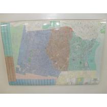 Mapa Partido Avellaneda Lanús Lomas De Zamora Didacticworld®