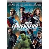 Dvd - Os Vingadores (avengers) - Original, Muito Barato!