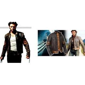 Jaqueta Wolverine X-men Couro Legítimo Limpa Estoque Saldão