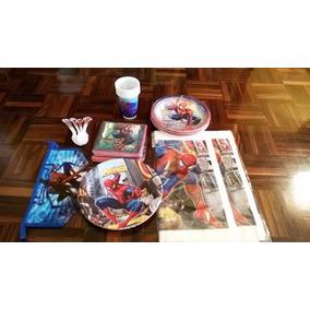 Decoración De Fiesta De Niños De Spider Man Nuevo