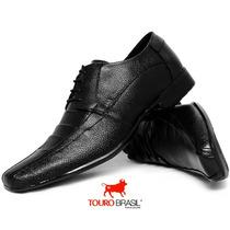 Sapato Barato P/ Trabalho Social Masculino Couro Macio Confo