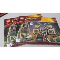 Lego 7627 Temple Of The Crystal Indiana Jones Instructivo