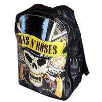 Mochila Escolar Guns N Roses P/ Notebook Pronta Entrega