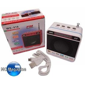 Mini Caixinha De Som Portatil Kit C/2e Mp3 Pronta A Entrega
