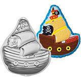 Molde De Aluminio Barco Pirata Horno Torta Reposteria