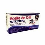 Aceite De Krill Nutrifarma Nko, 30 Cápsulas Blandas De 500mg