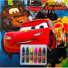Livro Disney - Diversão Colorida - Carros 2