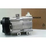 Compressor Ford F250 Motor Diesel Polia 6pk + Acumulador