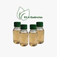 Essências Concentradas 100ml - Kit C/ 4 Aromatizante Difusor