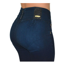 Jeans Colombianos Diseño Push Up Tallas Grandes Xg Levapompa