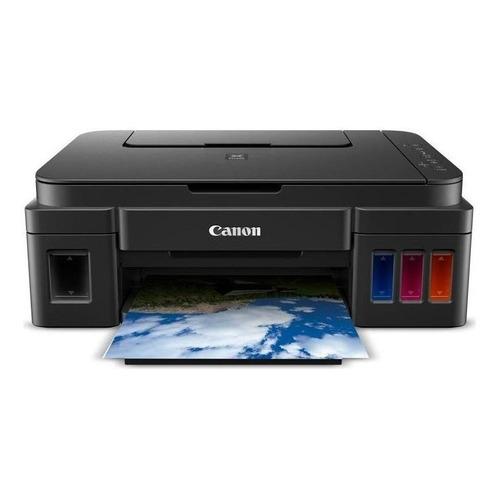 Impresora a color multifunción Canon Pixma G3100 con wifi 110V/220V negra