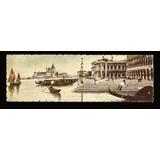 Italia Postal Antigua Dibujada Venecia