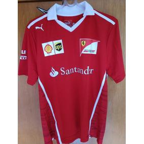 Camisa Social Ferrari Santander - Camisa Pólo Masculinas no Mercado ... 510d349d9bf