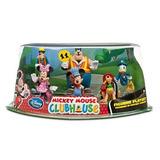 Juguete Casa De Mickey Mouse Juego De Juego De La Estatuill