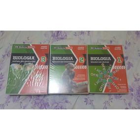 Livro Biologia - Amabis Martho - Moderna Plus - 3 Volumes