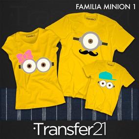Playeras Combo Familia Minions, Familia Minions, Trio $897