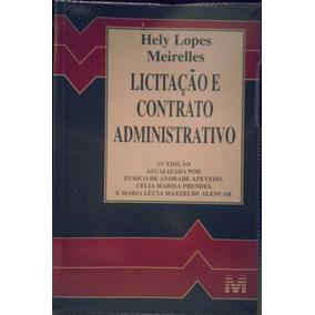 Livro - Licitação E Contrato Administrativo 12º Edição