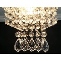 Lustre Bacalhau De Cristal Egípcio Asfour Plafon Sala Quarto