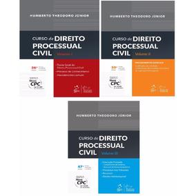 Ebooks Curso De Direito Processual Civil Vol. 1, 2, 3 Pdf