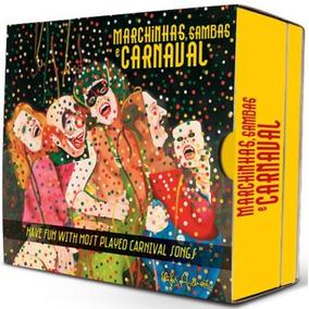 Marchinhas, Sambas E Carnaval - Box Com 4 Cds