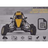 Kit Construye Carro Buggy Karting + Go Kart Arenero Original