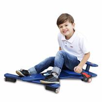 Carrinho De Rolimã F1 Bmw Junior Com Rodas De Skate Azul