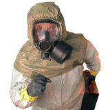 Msa Safety 10051286 Millennium Riot Control Gas Mask, Small,