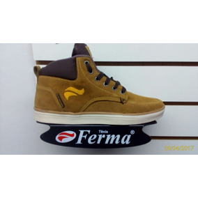 Tenis Ferma Skate Cano Alto Mod. A9962