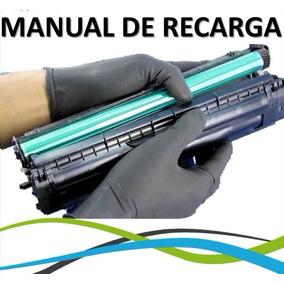 Manual De Recarga De Toner Canon 128 125 137 44450 4770