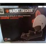 Tronzadora Black Decker 14 Modelo Profesional 3800 Re