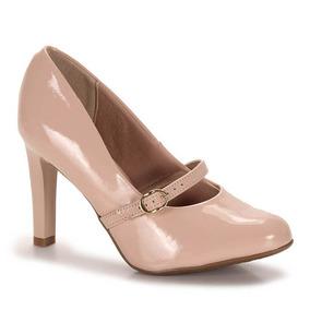 Sapato Boneca Feminino Conforto Beira Rio - Nude