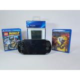 Playstation - Ps Vita Wifi Con Juegos Incluidos