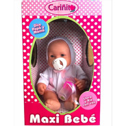 Maxi Bebe Bebote Llora Original Cariñito 40 Cm @ Mca