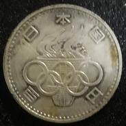 Moeda 100 Yen 1964 Olimpiadas Tokio