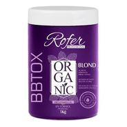 Botox Orgânico Matizador Zero Formol Rofer Profissional 1kg