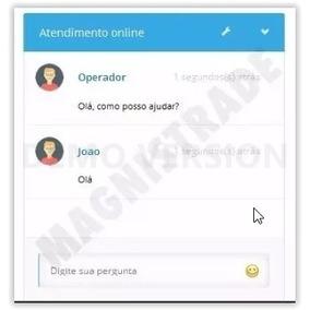 Script Php Atendimento Online - Chat - Admin 2018