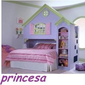 Dormitorios Infantiles Todo Para Tu Dormitorio En Mercado Libre - Camas-infantiles-para-nia