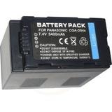 Batería Cga-d54 D54s Cámara Filmadora Panasonic Ag-dvx100