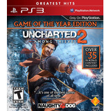 Uncharted 2 Among Thieves Goty Edition - Ps3 - Semi Novo