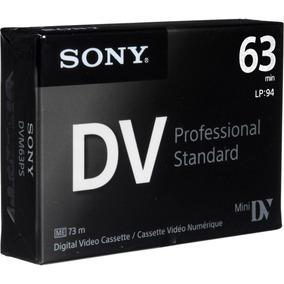 Tape Minidv Sony Professional Standard Dvm63ps Caja X 5u